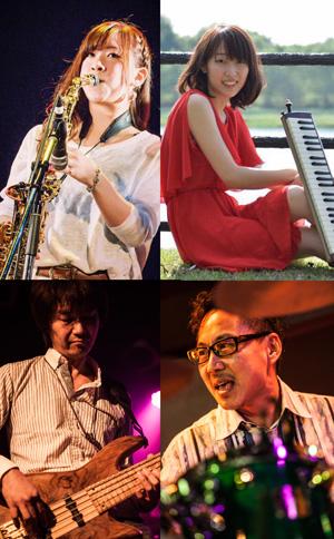 田中アユミ(Sax)ジャズカルテットの画像